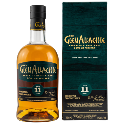 GlenAllachie 11y Moscatel Finish 48% Vol Alc. 0,7l