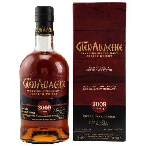 GlenAllachie 2009/2021 Sherry Rioja Cuvee 56,1% Vol Alc. 0,7l