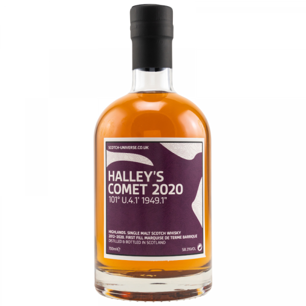 Halley's Comet 2020 8y 58,3% Vol. Alc 0,7l Scotch Universe