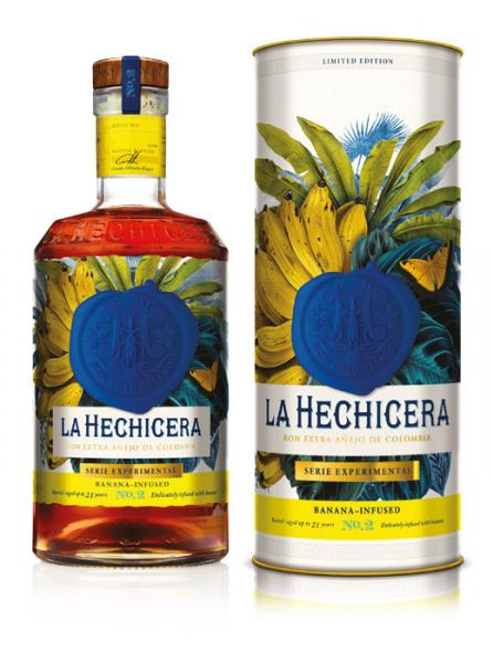 La Hechicera Rum Serie EXPERIMENTAL No. 2 Banana Infused 41% Alc. 0,7l