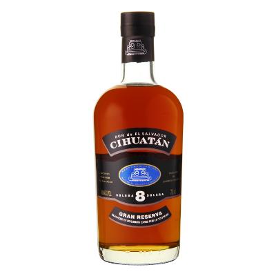 Cihuatan Rum 8y Solera 40% Vol 0,7l