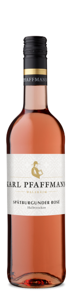Spätburgunder Rosé halbtrocken QbA Pfalz Weingut Karl Pfaffmann Erben