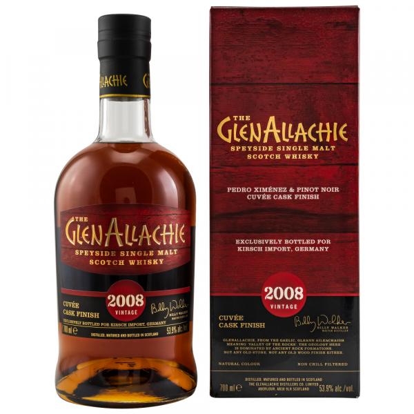 GlenAllachie 2008/2020 PX & Pinot Noir Cuvee 53,9% Vol Alc. 0,7l