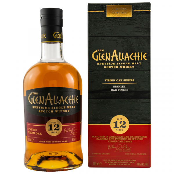 GlenAllachie 12y. Spanish Virgin Oak Wood 48%Alc 0,7l
