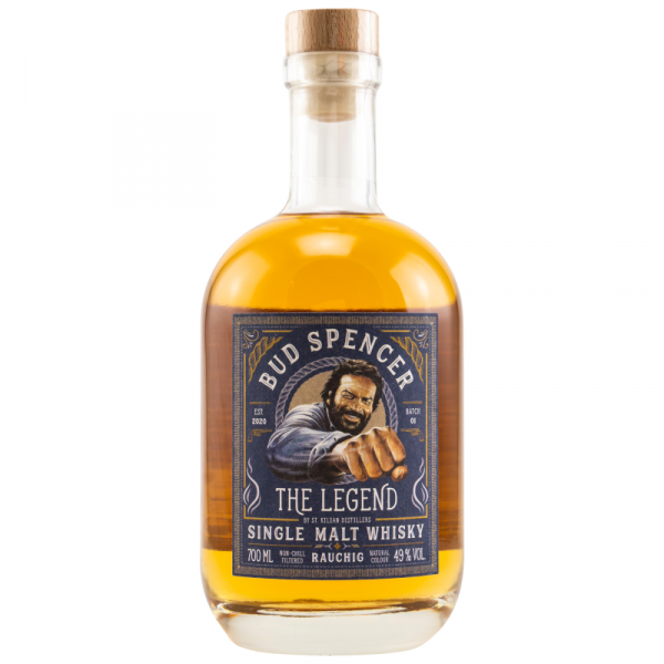 Bud Spencer The Legend Single MAlt Whisky Peated 49% Alc. 0,7l