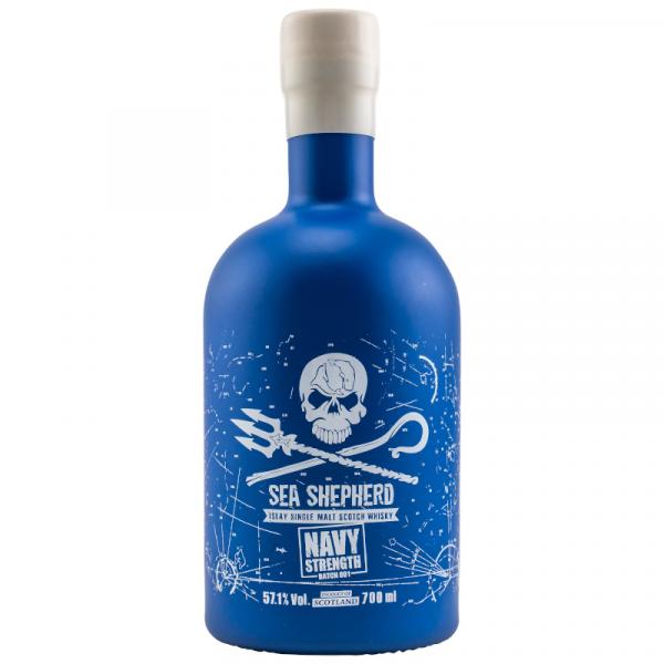 Sea Shepherd Navy Strength Batch #1 Islay Single Malt Whisky 57,1% Alc. 0,7l