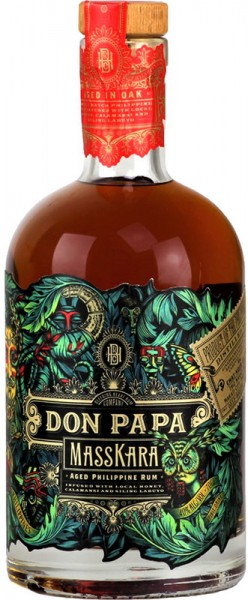 Don Papa MassKara Rum 40% vol. Alc. 0,7l