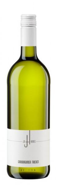 Grauburgunder 1 LITER Qualitätswein trocken Pfalz Joahnnes