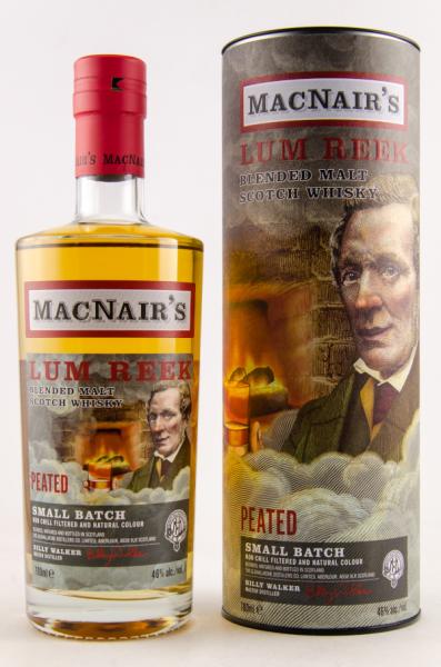 MacNairs Lum Reek blended Malt Scotch Whisky 46% Alc 0,7l